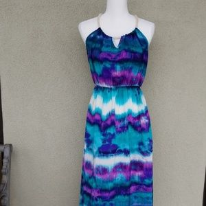 Tye dye light weight dress